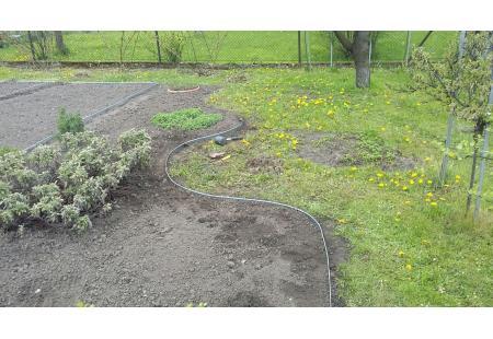 Terasest aiaääris - tsingitud