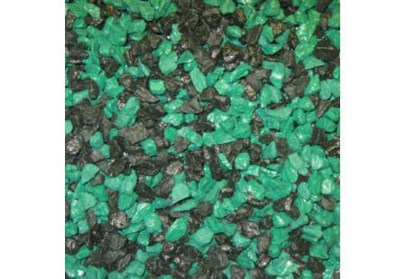 Must-rohelene dekoratiivne killustik SANGRIT BLACK-GREEN