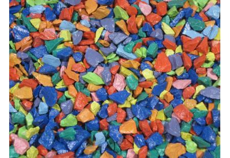 Värviline dekoratiivne killustik SANGRIT MIX